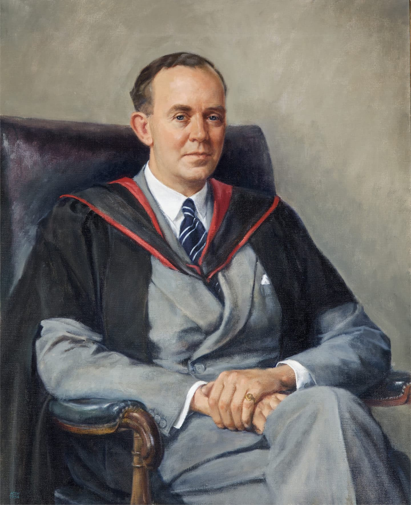 Portait of Keith Murray in Hall
