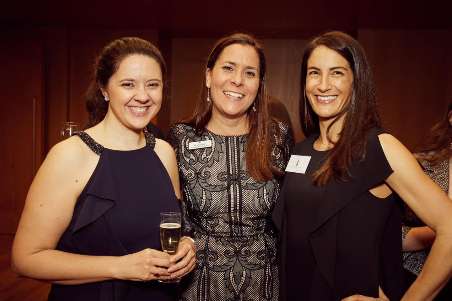 Deputy Development Director Jane Mitchell (centre) pictured with alumni at the MCR 60th Anniversary