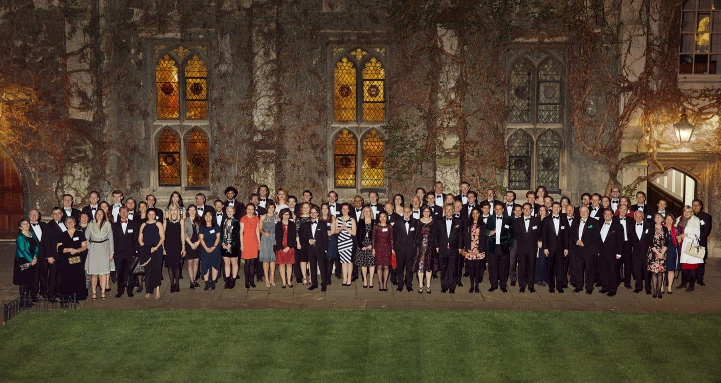 Alumni at the 60th Anniversary of the MCR event in 2019
